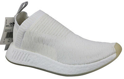 Adidas BY3018 Originals NMD CS2 Primeknit Core White Shoes