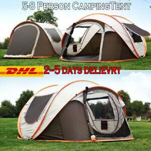 4-6-personas-instantanea-pop-up-camping-tienda-Caqui-Impermeable-Refugio-de-familia-automatico