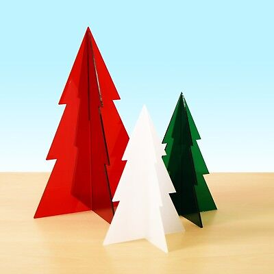 Acrylic Christmas Tree Table Decoration Retail Or Home Window Display Stand Ebay