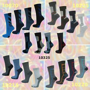 4-12-Paar-Thermo-Socken-Winter-Freizeit-Herren-Struempfe-warm-dicke-Skisocken