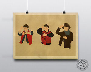 Details about MARTY MCFLY Back to the Future Minimalist Poster by Posteritty Design BTTF Day