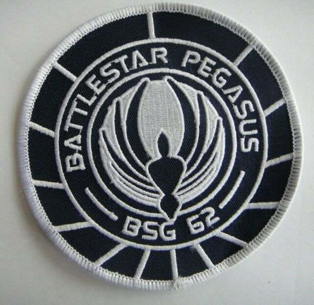 "Battlestar Galactica BSG 75 Marines Special Ops Embroidered 4/"" Patch"