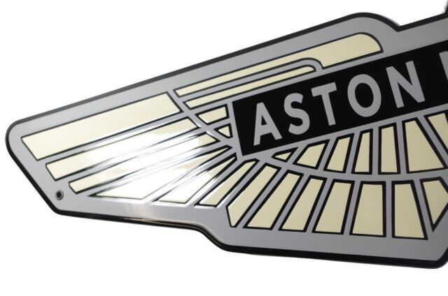Enamel Plaque Aston Martin Xcm Years Emblem Sign Logo Plate - Aston martin warranty