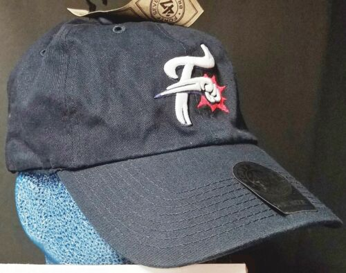 NEW Reading Fightin/' Phils Navy Blue Adjustable Baseball Cap Embroidered /'47 Br.
