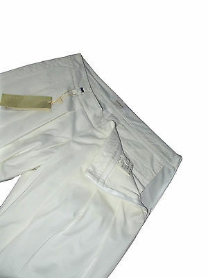 Pantalone short donna bianco LOOPS made italy tg it 42 uk 10 de 36 w 28