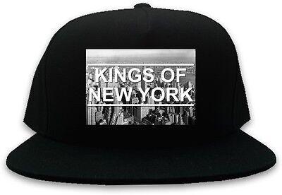 Kings Of NY New York City Skyline Snapback Hat Baseball Cap One Size Black
