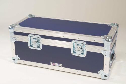 "5 Star Cases UK Made Flight Case Stackable 300 x 7/"" Singles ALUMINIUM Record Box"