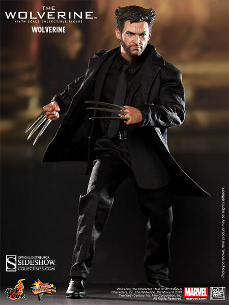 """Sideshow Hot Toys 12"""" 1/6 Scale Wolverine X-Men  Avengers  Movie Figure MMS220"""
