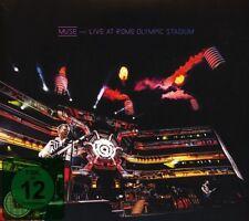 MUSE - LIVE AT ROME OLYMPIC STADIUM  CD + BLU-RAY NEU