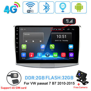 4G-Android-9-1-2-32-Car-dvd-player-radio-GPS-wifi-for-Volkswagen-VW-Passat-B7-CC