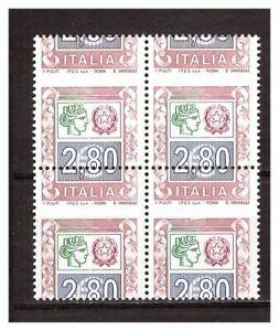 s20542) ITALIA MNH** 2004 Euro 2,80 Varietà dent. orizz. fort. spostata in alto