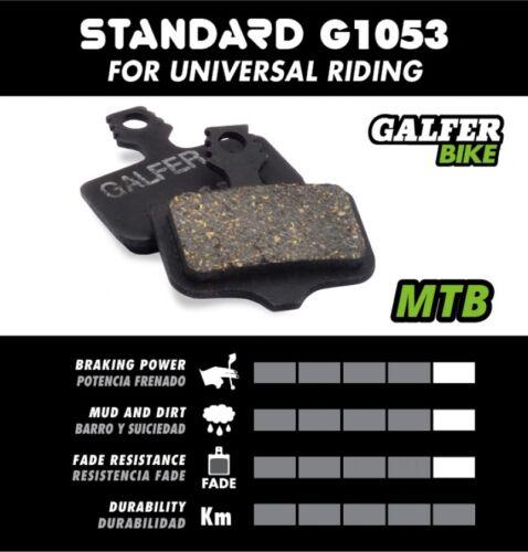 Galfer Disc Brake Pads Avid Elixir 1 3 5 7 XX XO MTB G1053 NEW FD427