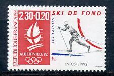 STAMP / TIMBRE FRANCE NEUF N° 2678 ** SPORT / SKI DE FOND