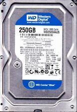 WD 250GB hard drive w/ Win 7 & drivers for Dell Optiplex 755 tower desktop sff