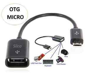 Details about USB Micro to USB Female OTG Cable Adapter For Samsung Galaxy  Tab 3,Tab 4 (10 1