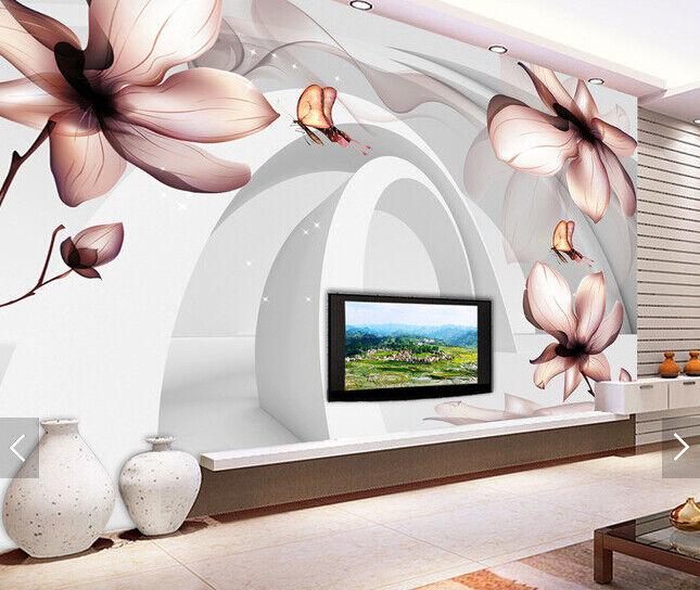 3D Paint Petals 630 Wallpaper Murals Wall Print Wallpaper Mural AJ WALL AU Kyra