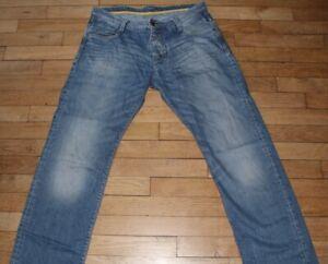 JULES-Jeans-pour-Homme-W-34-L-32-Taille-Fr-44-Ref-J148