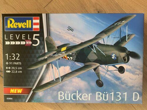 ++ Revell 03886 Bücker Bü-131 Jungmann 1:32 03886