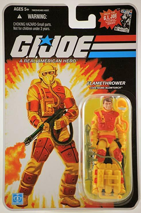 G.I. JOE 25th Anniversary Collection_BLOWTORCH 3.75     azione cifra_Flamethrower 9740d5