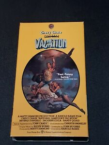 Chevy-Chase-NATIONAL-LAMPOON-039-S-Vacation-VHS-Tapes-1983-Comedy