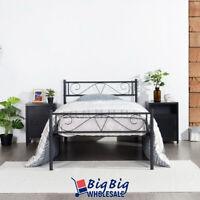GENIQUA Twin Size Metal Bed Frame Deals