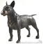Cold-Cast-Bronze-English-Bull-Terrier-lover-gift-sculpture-ornament-figurine thumbnail 1