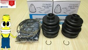 Front-Inner-amp-Outer-CV-Axle-Boot-Kit-for-Club-Car-Carryall-294-4x4-All-Models