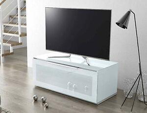 Mobile Porta Tv Plasma.Munari Garda Ga 110 Bi Mobile Porta Tv Plasma Lcd Bianco Con Anta