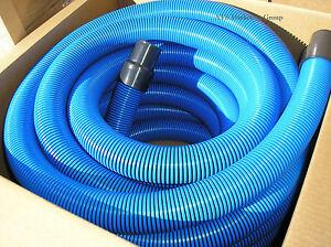 Carpet-Cleaning-50-039-Truckmount-Vacuum-Hose-2-034-BLUE