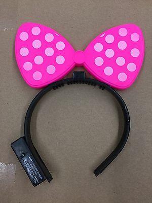 20 Minnie Pink Light Up Bow