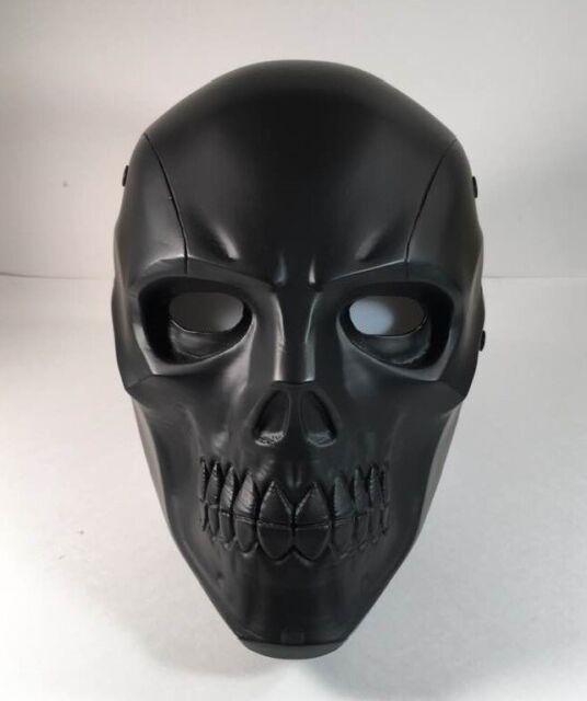 Deathstroke Mask Helmet Arkham Origins Halloween Cosplay Face Mask Masquerade