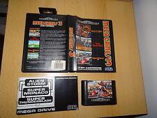 MEGA GAMES 3, locale Mega Drive, ALIEN STORM, SUPER THUNDER BLADE, Super Monac