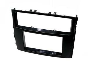 Panel-radio-BLACK-Double-2-DIN-Mitsubishi-Pajero-V-5-and-Shogun-from-2014-NL