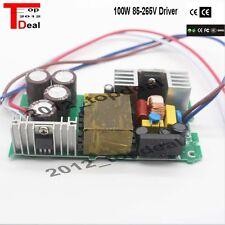 100 W Watt LED Driver Light Power Supply 3000ma 18-34v Lighting Transformer CE