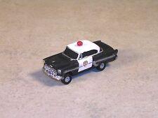 HO 1952 Black & White Chevy Police Car, #8015