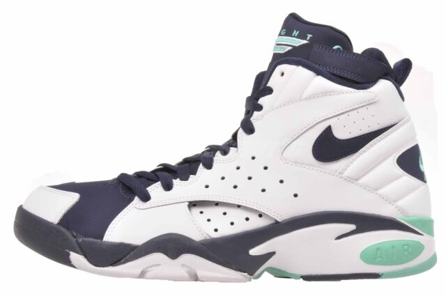 Nike Air Maestro II Ltd Basketball Mens Shoes White Obsidian AH8511 100