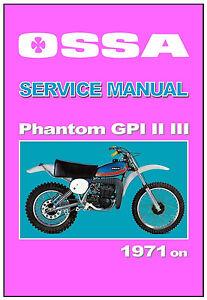Ossa workshop manual phantom gpi gpii gpiii 1974 1975 1976 1977 1978 image is loading ossa workshop manual phantom gpi gpii gpiii 1974 asfbconference2016 Images
