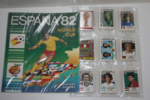 Panini-Espana-82-Loose-Sticker-Set-Empty-Album-1-packet-100-ORIGINAL