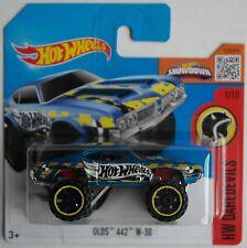 Hot Wheels - Oldsmobile / Olds 442 W-30 blau Neu/OVP