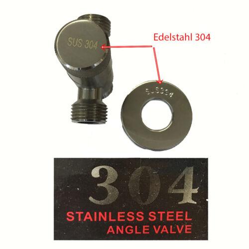Valve 022 3-Angle Angle Valve Valve 1//2 inch with Design Handle Ball Valve tap
