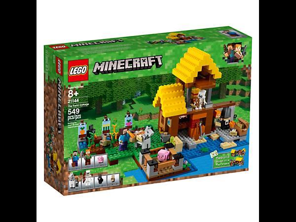 N 21144 Minecraft The Farm Cottage
