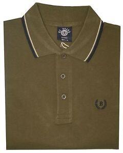 POLO SHIRT UOMO NUOVI BIANCO BLU NERO Pique Camicia Polo T-SHIRT M L XL XXL XXXL