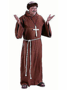 c924099c23783 WMU 559766 Adult Polyester Medieval Monk Costume
