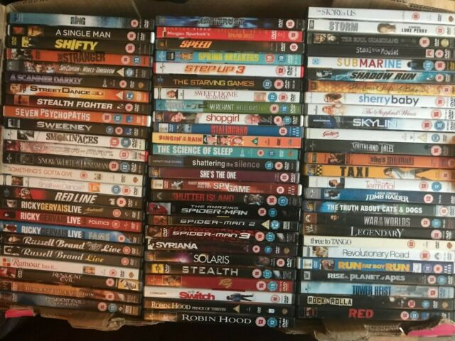 DVDs Action/Drama/Comedy/Horror/Thriller Choose From List # 8