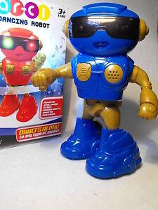 DANCING TOY ROBOT  ALL DANCING ELECTRONIC ROBOT toy robot gift DISCO ROBOT GIFT