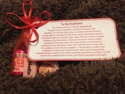 Present for Boyfriend Boyfriend Birthday gift Boyfriend Valentines gift |  eBay