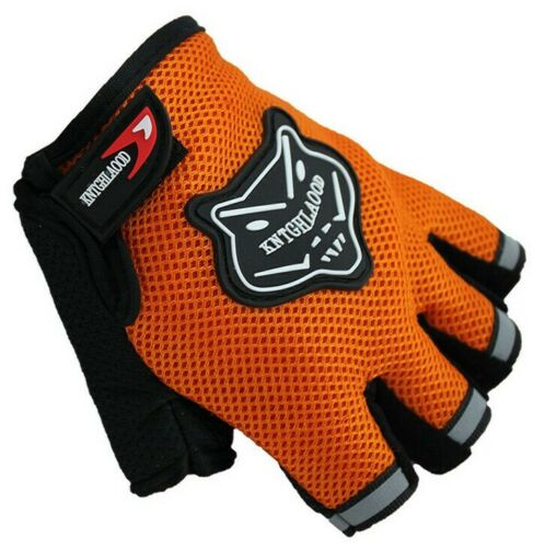 Summer Bike Bicycle Half Finger Sport Short Cycling Finger Gloves