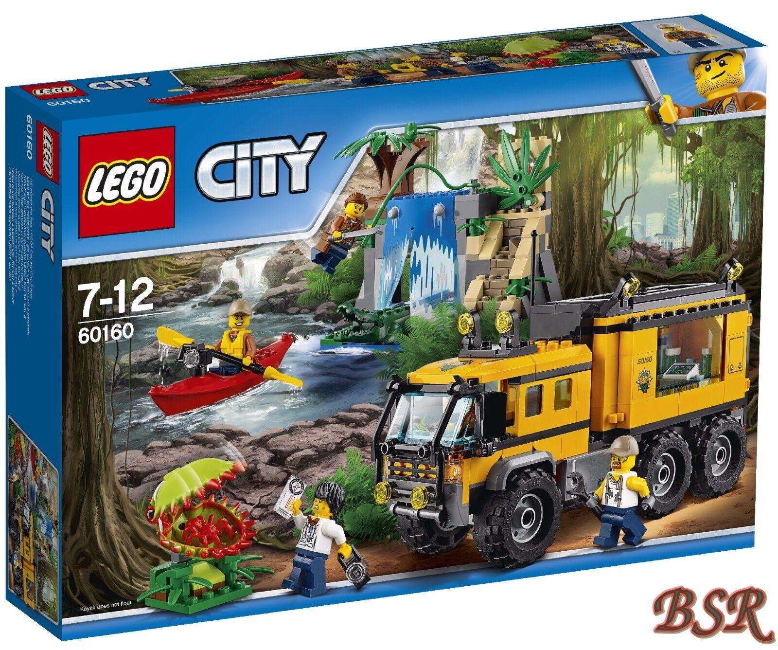 LEGO ® City giungla 60160 laboratorio mobile & 0.  Spedizione & NUOVO & OVP