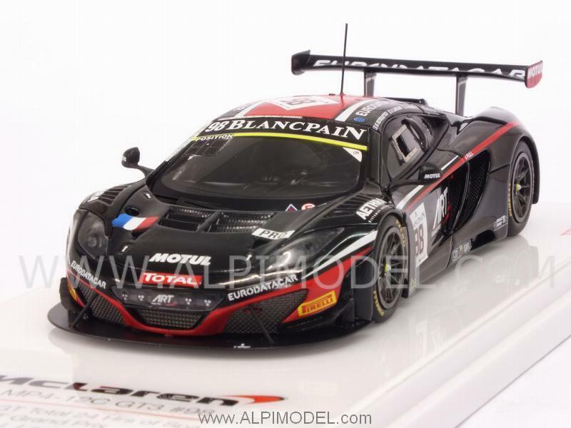 profitto zero McLaren 12C GT3 Total Art Gre Prix 24h Spa 2014 2014 2014 1 43 TRUESCALE TSM154334  popolare