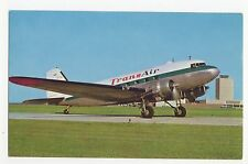 Transair DC-3 Aviation Postcard, A658